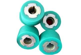 绿色硅胶轮